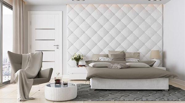 Декоративные стеновые панели: рельефные 3D и мягкие
