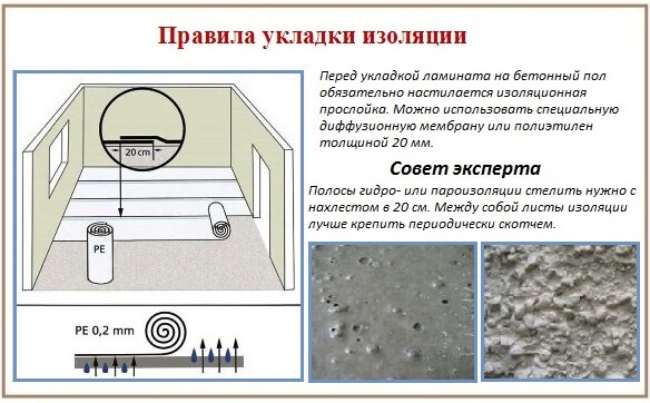 Укладка напольных покрытий: ламинат